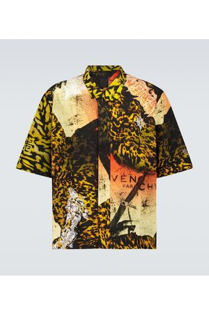 Givenchy Printed short-sleeved shirt