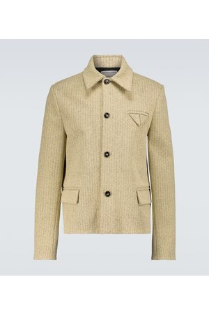 Bottega Veneta Herringbone light jacket