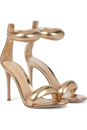 Gianvito Rossi Bijoux 105 leather sandals