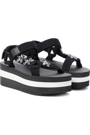 Marni Embellished platform sandals