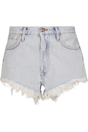 Alanui San Pedro denim shorts