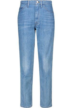 Frame Le Italien high-rise straight jeans