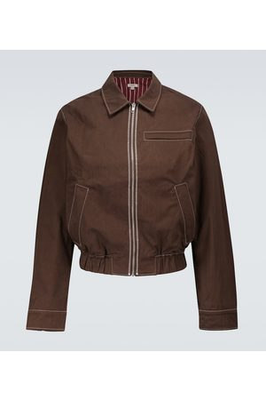 Phipps Dad topstitched blouson jacket