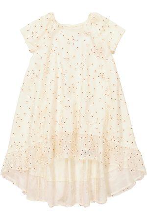 BONPOINT Nola embroidered tulle dress