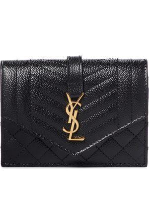 Saint Laurent Monogram leather wallet