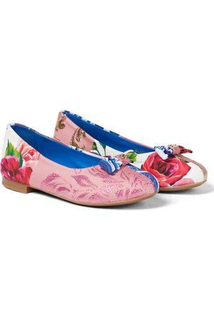 Dolce & Gabbana Printed ballet pumps