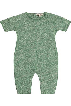 Caramel Baby Sea Grass cotton onesie