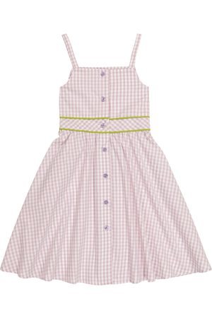 PAADE Cleo gingham cotton dress