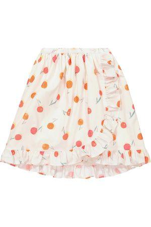 BONPOINT Sveva printed cotton skirt