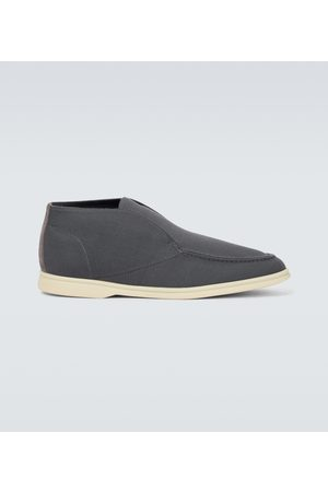 Loro Piana Open Walk knitted ankle boots
