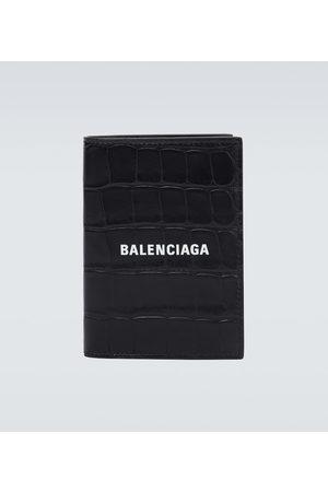 Balenciaga Cash leather wallet with logo