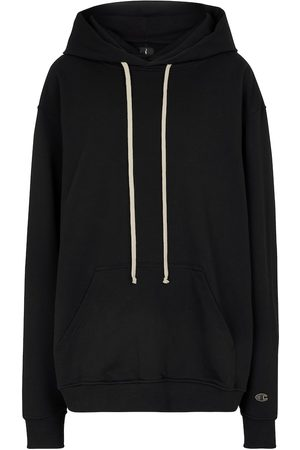 Rick Owens X Champion® cotton hoodie