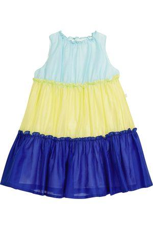 Il gufo Tiered cotton dress