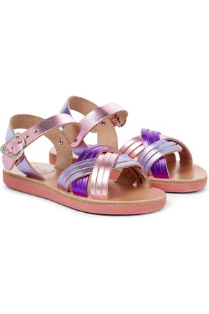Ancient Greek Sandals Little Electra Soft leather sandals