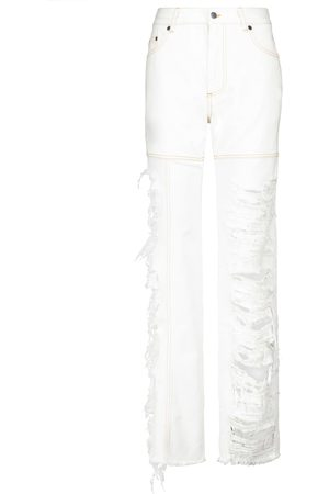 Peter Do High-rise straight jeans