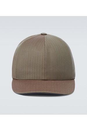 Sease Wool and nylon baseball cap