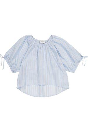 PAADE Ari striped cotton top
