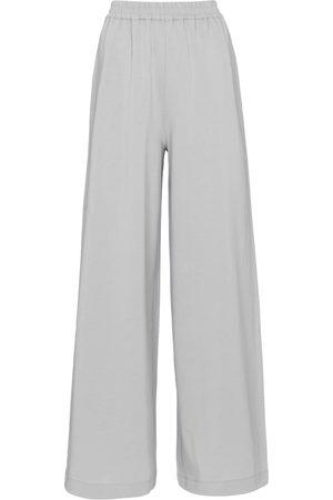 Joseph Wide-leg cotton jersey pants