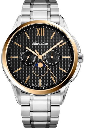 Adriatica Mężczyzna Zegarki - Zegarek - A8283.2166QF Silver