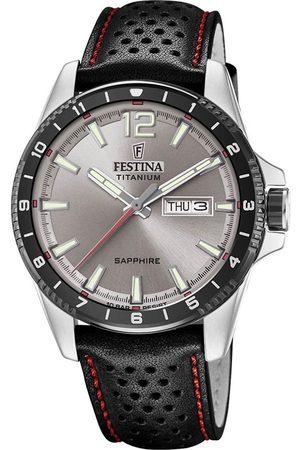 Festina Zegarek - Titanium Sport 20530/3 Black/Silver