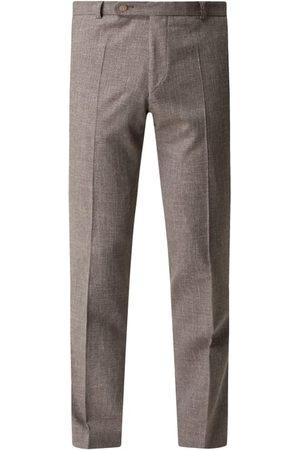 Wilvorst Spodnie do garnituru z mieszanki wełny