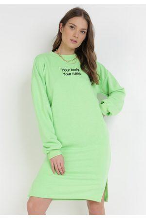 BORN2BE Zielona Bluza Petoriko