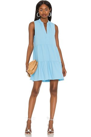 Amanda Uprichard Rylee Dress in - Baby Blue. Size L (also in XS, S, M).