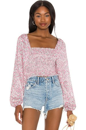 RESA Chevy Top in - Pink. Size L (also in XS, S, M).