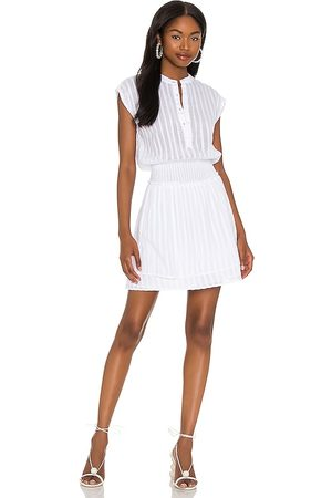 Rails Angelina Dress in - White. Size L (also in XS, M, S).