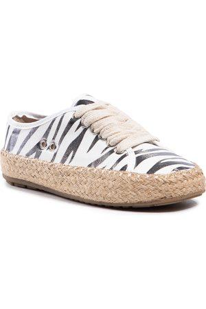 Emu Dziewczynka Espadryle - Espadryle - Agonis Zebra Teens T12573 Coconut/Blanc Coco