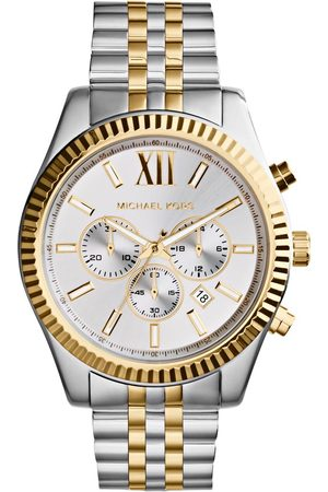 Michael Kors Mężczyzna Zegarki - Zegarek - Lexington MK8344 Silver/Gold