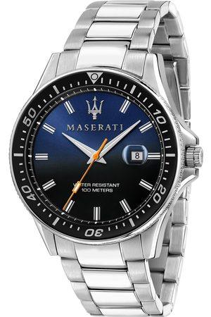 Maserati Mężczyzna Zegarki - Zegarek - Sfida R8853140001 Silver/Black