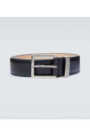 Alexander McQueen Paski - Identity leather belt