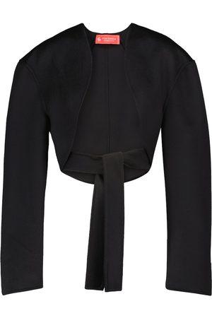 Peter Do Kobieta Bolerka - Wool bolero jacket