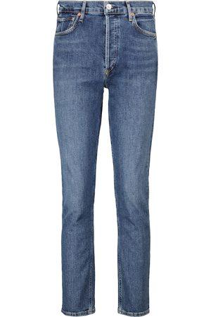 Citizens of Humanity Kobieta Z wysokim stanem - Charlotte high-rise straight jeans