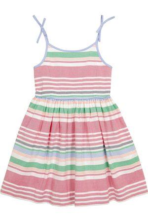 Polo Ralph Lauren Kids Dziewczynka Sukienki letnie - Striped cotton dress