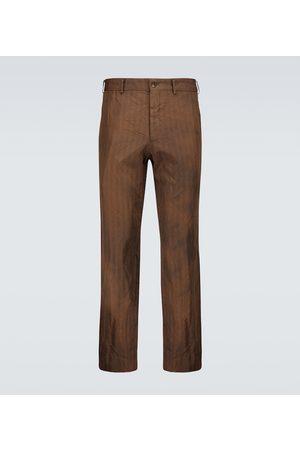 Comme des Garçons Homme Deux Spodnie eleganckie - Tailored striped pants