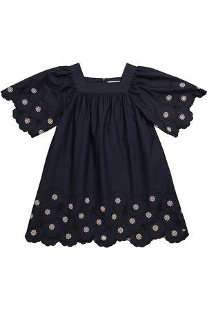 Tartine Et Chocolat Dziewczynka Sukienki - Broderie anglaise cotton dress