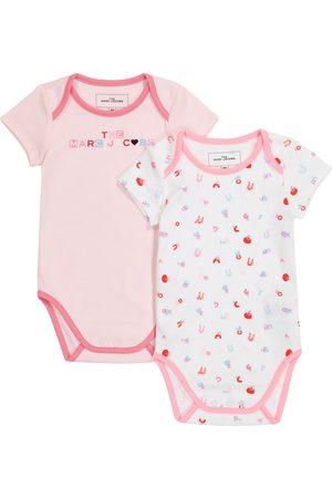 The Marc Jacobs Body i Śpioszki - Baby set of 2 cotton bodysuits