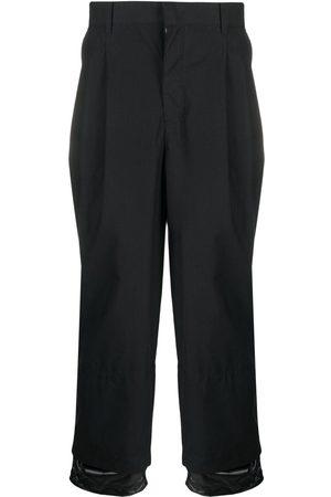 Juun.J Mężczyzna Spodnie z szeroką nogawką - Black