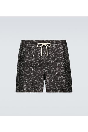 Arrels Barcelona Black White Conversations x Clara Arnús swim shorts