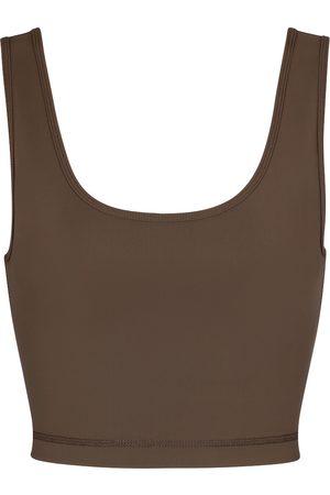 WARDROBE.NYC Release 02 stretch-jersey crop top