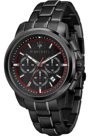 Maserati Zegarek - Successo R8873621014 Black/Black