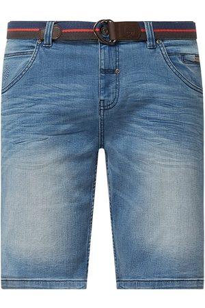 Lerros Szorty jeansowe o kroju regular fit z dodatkiem streczu model 'Craig'