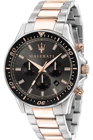 Maserati Zegarek - Sfida R8873640002 Silver/Black/Pink