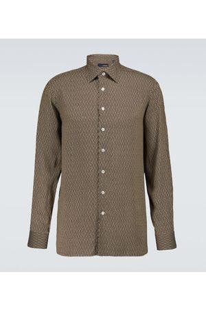 LARDINI Mężczyzna Koszule z długim rękawem - Elangelo long-sleeved shirt