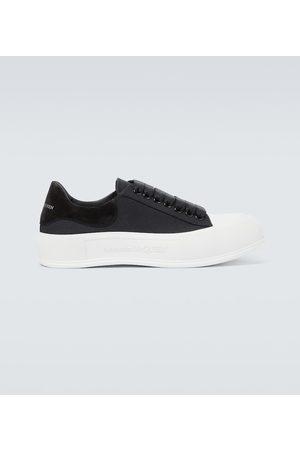 Alexander McQueen Buty casual - Deck Plimsoll sneakers