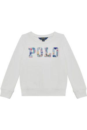 Ralph Lauren Dziewczynka Bluzy - Logo cotton jersey sweatshirt