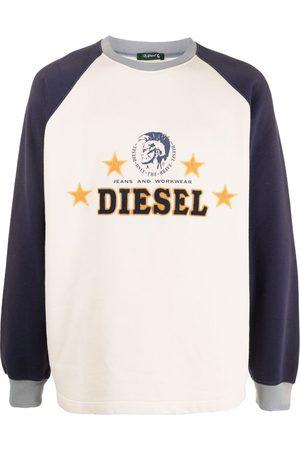 Diesel Mężczyzna Bluzy - Neutrals