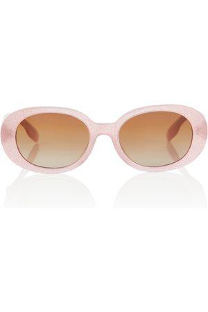 Burberry Kids Oval sunglasses